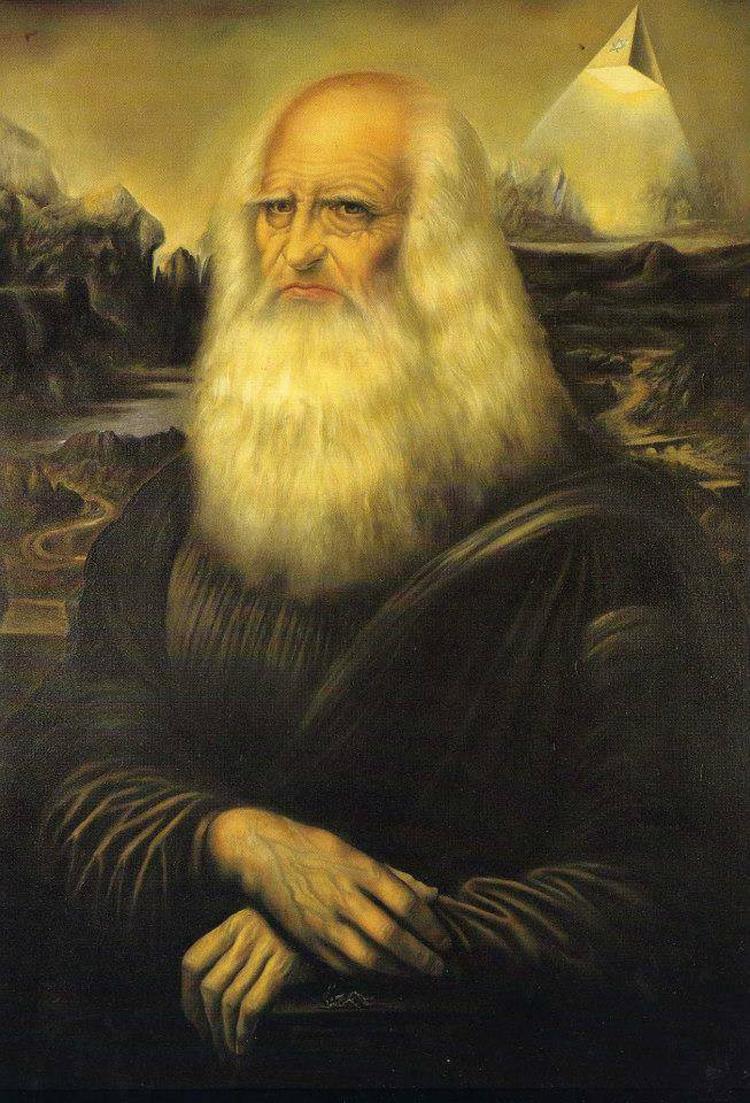 il pittore alberto lanteri celebra il genetliaco di On le opere di leonardo da vinci